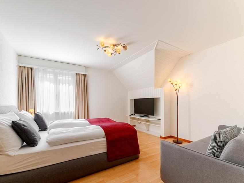 Classic Hotel Stanserhof 2 Bett Zimmer 34 4 3